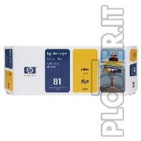 CARTUCCIA INCHIOSTRO GIALLO HP N.81 - Hp Color copier 210