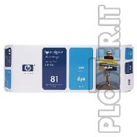CARTUCCIA INCHIOSTRO CIANO HP N.81 - Hp Color copier 210