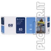 CARTUCCIA INK CIANO-UV HP N.83 - Hp Color copier 210