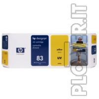 CARTUCCIA INK GIALLO-UV HP N.83 - Hp Color copier 210