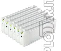 KIT CARTUCCE RICARICABILI CON CHIP per Epson T7200-T7000-T5200-T5000-T3200-T3000 (n.5 cartucce) -   Epson